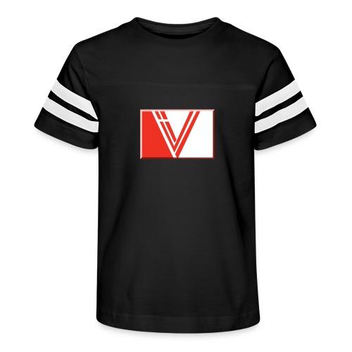 LBV red drop - Kid's Vintage Sport T-Shirt