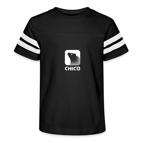 Chico's Logo with Name - Kid's Vintage Sport T-Shirt