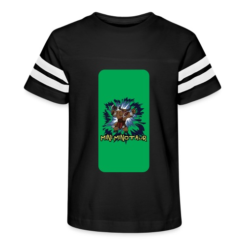 Mini Minotaur iPhone 5 - Kid's Vintage Sport T-Shirt