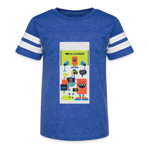 iphone5screenbots - Kid's Vintage Sport T-Shirt