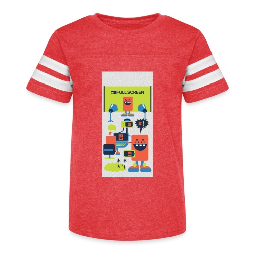 iphone5screenbots - Kid's Vintage Sport T-Shirt
