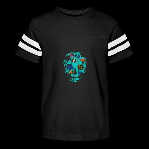 Underwater Skull - Kid's Vintage Sport T-Shirt
