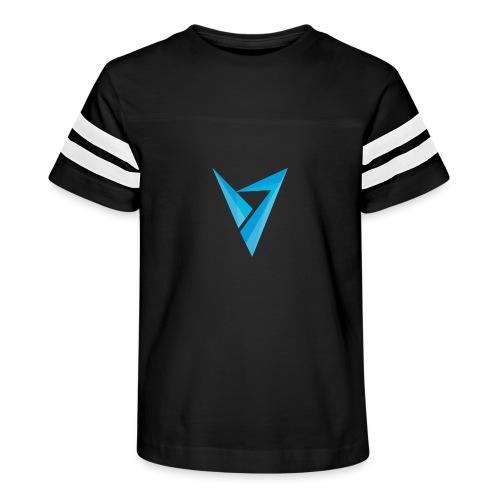 v logo - Kid's Vintage Sport T-Shirt