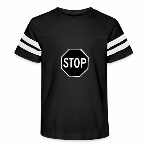 Stop 1 - Kid's Vintage Sport T-Shirt