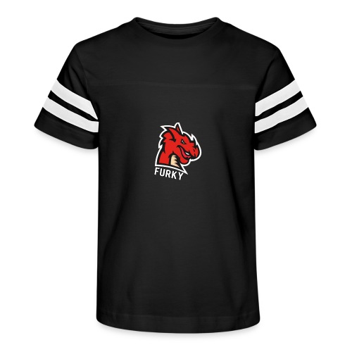 FurkyYT - Kid's Vintage Sport T-Shirt