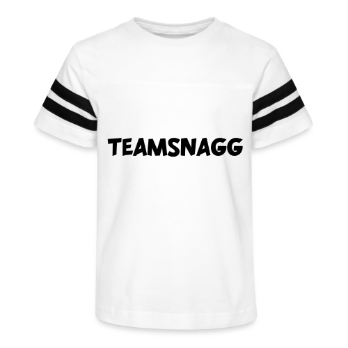 TeamSnagg Logo - Kid's Vintage Sport T-Shirt