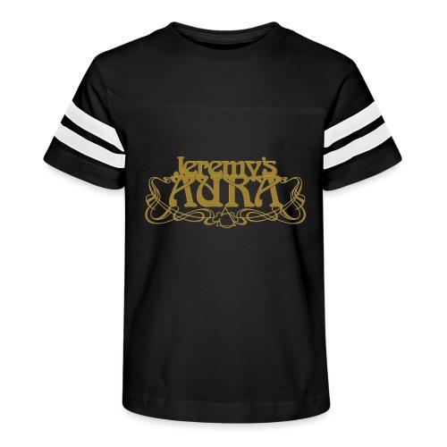 Jeremy's Art Nouveau Logo - Kid's Vintage Sport T-Shirt