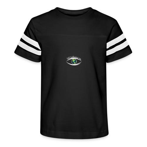 Self Sufficient Me Logo white small coy design - Kid's Vintage Sport T-Shirt