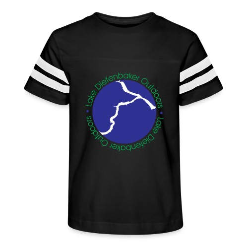 LAKE DIEFENBAKER OUTDOORS - Kid's Vintage Sport T-Shirt
