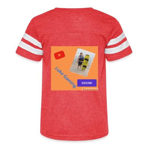 Luke Gaming T-Shirt - Kid's Vintage Sport T-Shirt