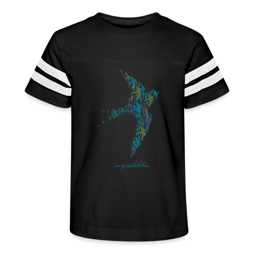 See Possibilities - Kid's Vintage Sport T-Shirt