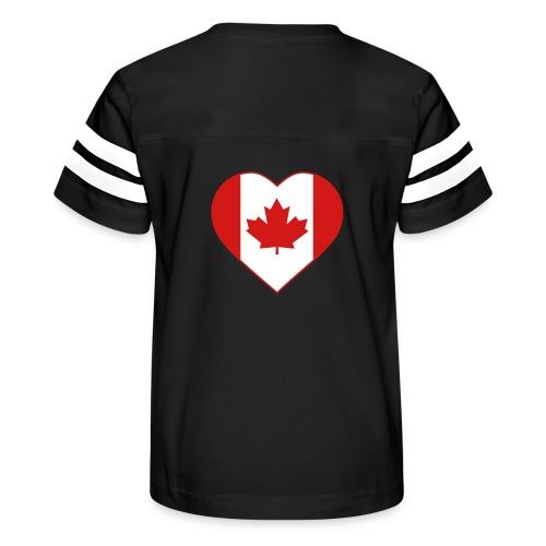 Canada Heart - Kid's Vintage Sport T-Shirt