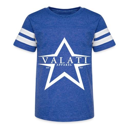 V-Star White - Kid's Vintage Sport T-Shirt