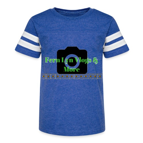 Fern Lyn Vlogs & More - Kid's Vintage Sport T-Shirt