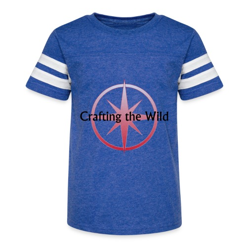 Crafting The Wild - Kid's Vintage Sport T-Shirt