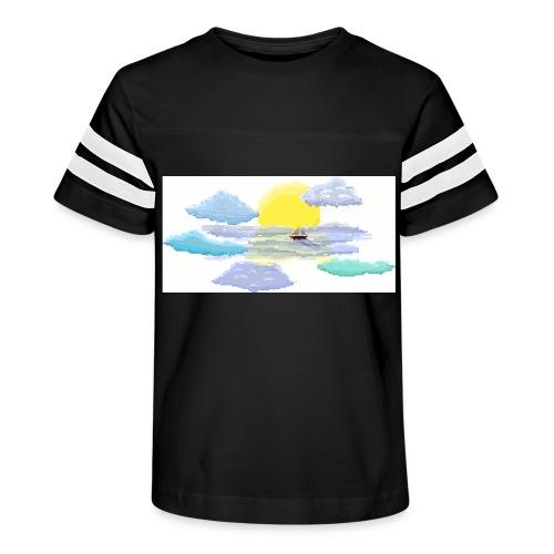 Sea of Clouds - Kid's Vintage Sport T-Shirt