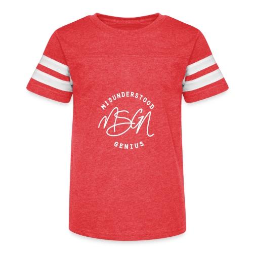 MSGN Logo - Kid's Vintage Sport T-Shirt