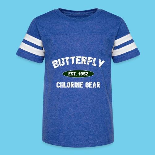 Butterfly est 1952-M - Kid's Vintage Sport T-Shirt