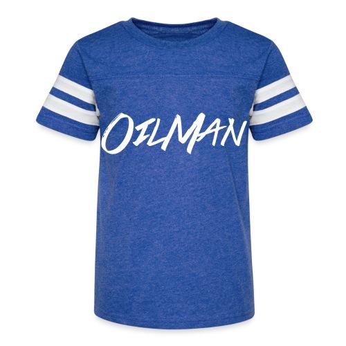 OilMan - Kid's Vintage Sport T-Shirt