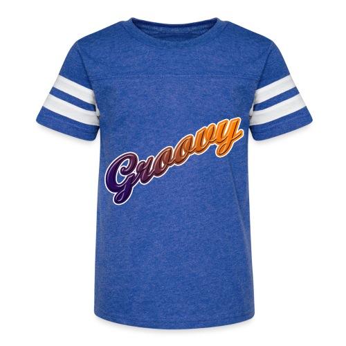 Groovy - Kid's Vintage Sport T-Shirt