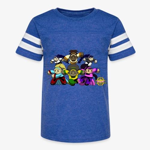 The Guardians of the Cloudgate w/ Logo - Kid's Vintage Sport T-Shirt
