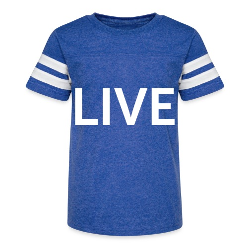 We are LIVE - Kid's Vintage Sport T-Shirt