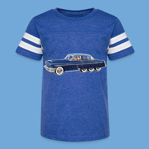 Mercury Monterey Eight - Full Color - Kid's Vintage Sport T-Shirt