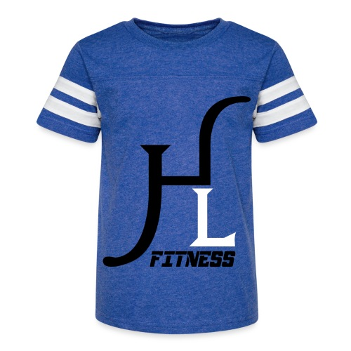 HIIT Life Fitness logo white - Kid's Vintage Sport T-Shirt