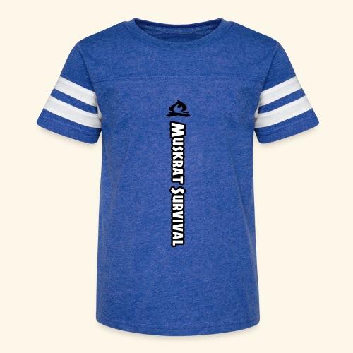 Muskrat Survival Tall - Kid's Vintage Sport T-Shirt