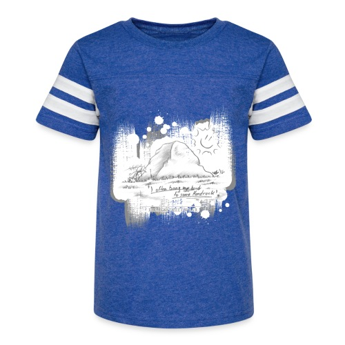 Listen to Hardrock - Kid's Vintage Sport T-Shirt