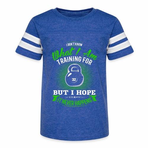 Workout Training - Kid's Vintage Sport T-Shirt