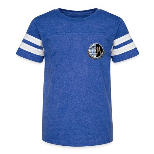 DMI Color Logo - Kid's Vintage Sports T-Shirt