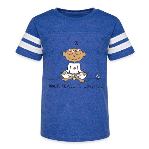 Inner Peace is Loading - Kid's Vintage Sport T-Shirt