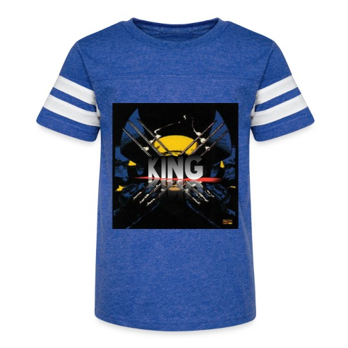 ones wolverine was a king!! - Kid's Vintage Sport T-Shirt