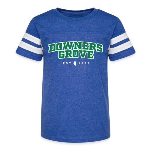 Downers Grove est 1832 - Kid's Vintage Sport T-Shirt