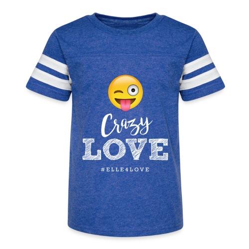 Crazy Love - Kid's Vintage Sport T-Shirt