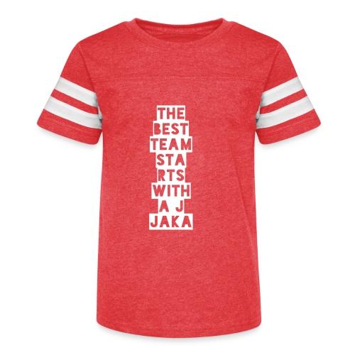 The Best Team Jaka - Kid's Vintage Sport T-Shirt