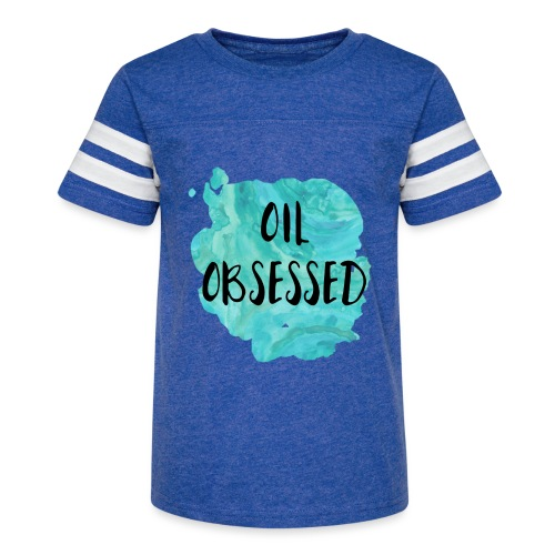 Oil Obsessed - Kid's Vintage Sport T-Shirt
