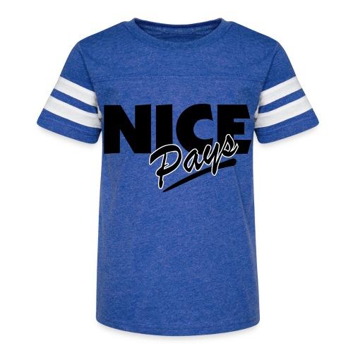 nicepays11 - Kid's Vintage Sport T-Shirt