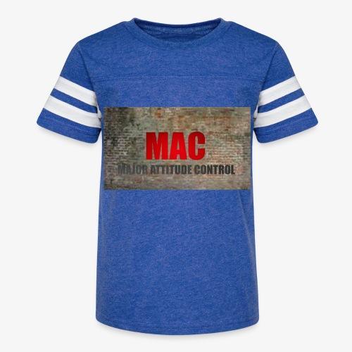 MAC LOGO - Kid's Vintage Sport T-Shirt
