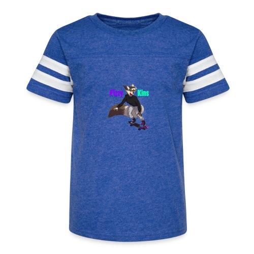 FizzyKins Design #1 - Kid's Vintage Sport T-Shirt