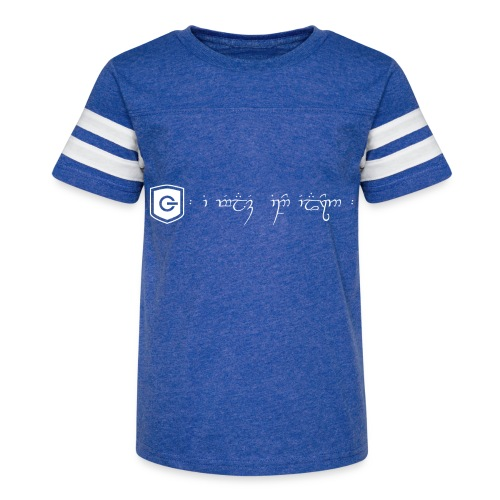The Loving Heart of an Elf - Kid's Vintage Sport T-Shirt