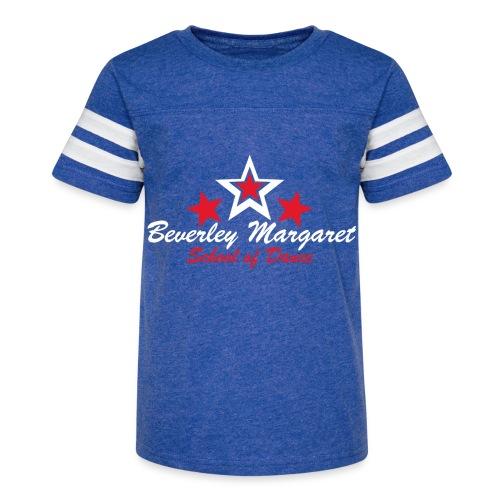 on black plus size - Kid's Vintage Sport T-Shirt