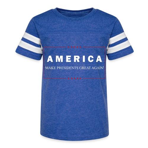 Make Presidents Great Again - Kid's Vintage Sport T-Shirt