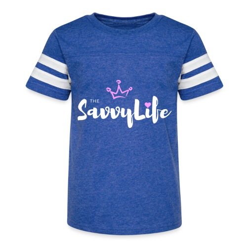 The Savvy Life - Kid's Vintage Sport T-Shirt