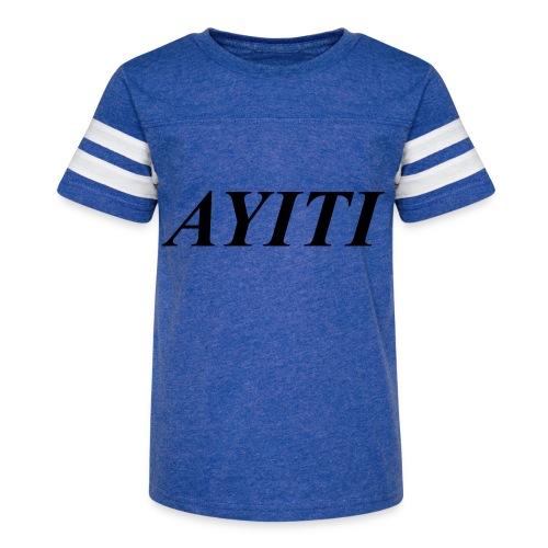 AYITI - T-shirts - Kid's Vintage Sport T-Shirt
