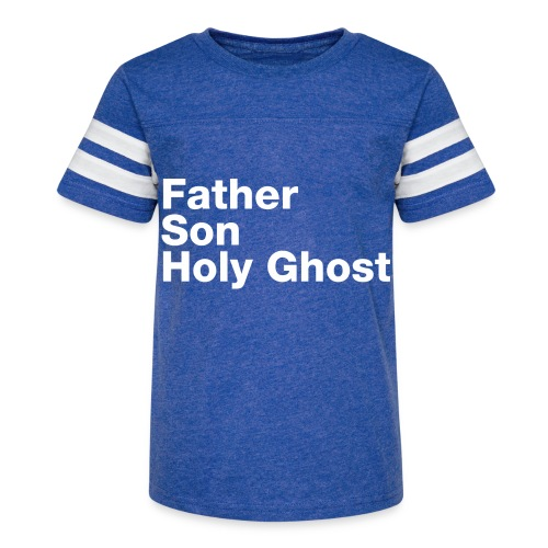Father Son Holy Ghost - Kid's Vintage Sport T-Shirt