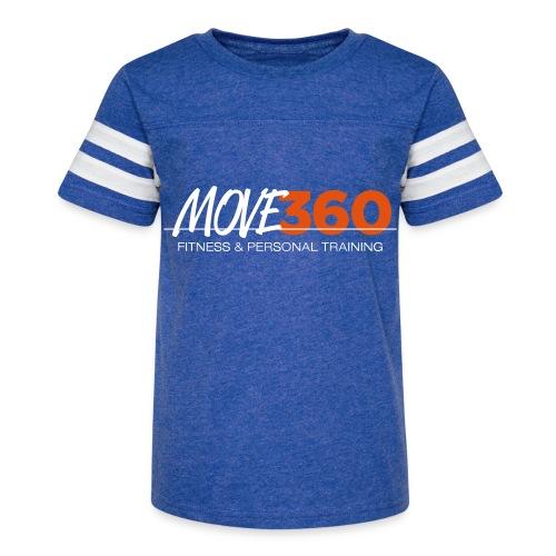 Challenge T-Shirt Delta Team - Kid's Vintage Sport T-Shirt