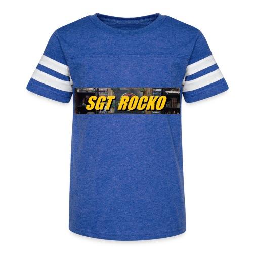 RockoWear Banner - Kid's Vintage Sport T-Shirt