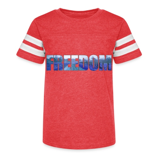 Freedom Photography Style - Kid's Vintage Sport T-Shirt